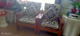 Sofa of wood
