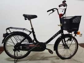 Sepeda Deki Japan Hitam Full Original Seperti Baru Cocok utk Pajangan