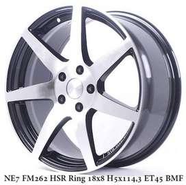 Velg Mobil VW Caravelle Wuling Almaz Ring 18 Type HSR Ne7