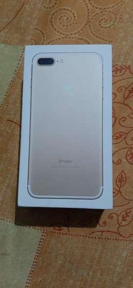 I phone 7 plus 128 gb with full box