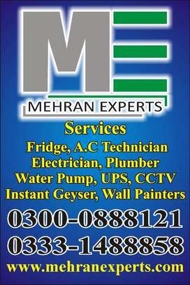 led,watermotor,electrician,plumber,fridge, ac technician, geyser,oven
