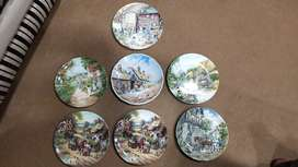 Imported wall hanging plates decorative plates