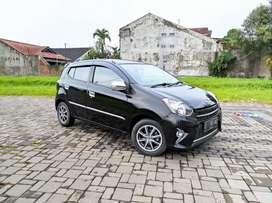 DP MINIM CUMA 12JT! TOYOTA AGYA G AT 2016 BLACK