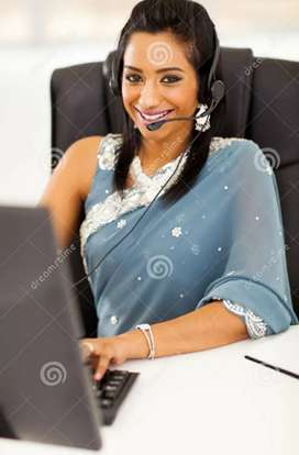 Female married candidates are required for office assistance.