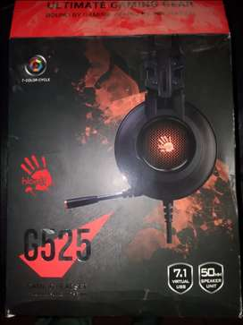 G525 Bloody HeadPhone USB Virtual best sound
