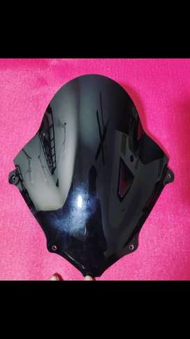 Gixxer visor new piece