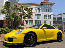Porsche Carrera 3.4cc 911 S 2015 Yellow Km4000 Perfect Full Opt ATPM