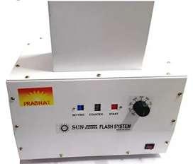 Sun Stamper Flash Machine