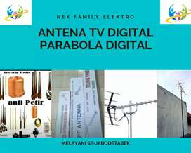Instalasi Pasang Baru Sinyal Antena Tv Mustika Sari