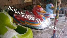 sepeda air angsa merah, bebek goes, bebek gowes