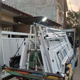 Kusen alumunium pintu,jendela dll.3'4'
