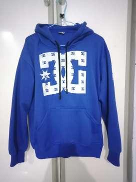 Hoodie DC Biru Keren