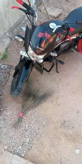 Honda shine 125cc bike , modal -2015, ret -31000,