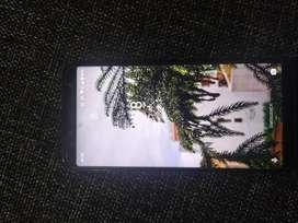 Black and sleek phone