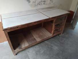 Wood counter/Wood Table for shops