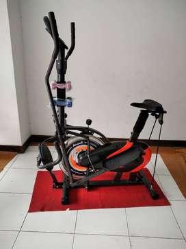 sepeda trapi sepeda olahraga di rumah 5 gerakan