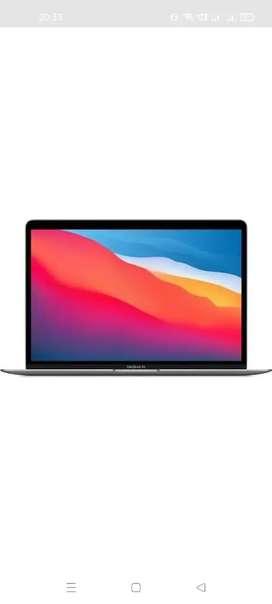 Apple macbook air M1 8 gb ram 256 gb ssd