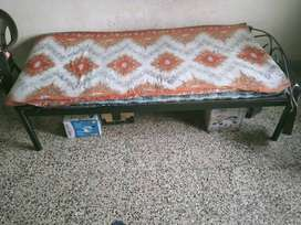 Good quality single bed with mattress