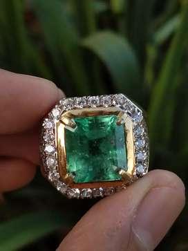 Natural Emerald Colombia (zamrud)