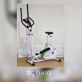 Sepeda Statis Elliptical Bike // Halmadri AJ 11U17
