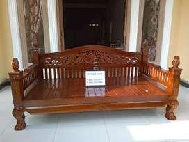 Sofa bale kayu jati solid