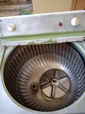 Old used watching machine with original motor