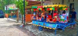komedi animal kereta panggung fiberplat waterboom odong