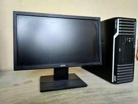 Acer computer desktop set