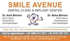 Receptionist a dental clinic