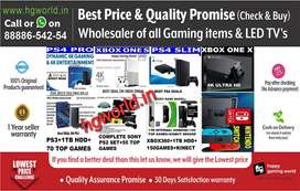 Never Before Offer|PS4,PS3,PS2,XBOX1/360/X/S,Nintendo|LED TV Wholesale