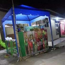 Tenda cafe  produksi  sendiri  harga miring cod