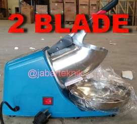 MESIN SERUT ES DOUBLE BLADE ICE CRUSHER DOUBLE BLADE