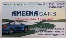 Self Driving Cars & Bikes for Rental at low cost