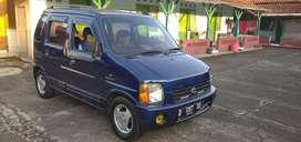 Mobil karimun Dx tahun 2001 biru metalic