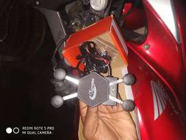 Charging Mobile holder for bikes and scooty
