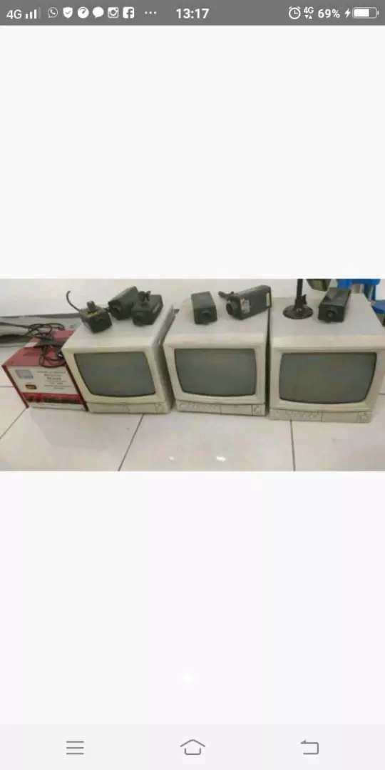 Jual set CCTV - ps. baru 0