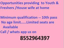 Part time/ Full time jobs work from home earn daily 1000.