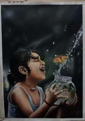 Oil painting soo beautiful painting