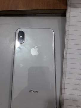 i phone 10 Aone condion 256gb 1.5 year old white colour no dammege