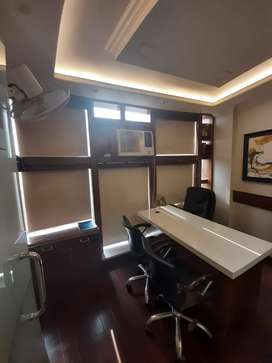 Available fully furnished newly designed office.
