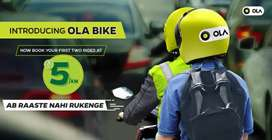 OLA bike riders required