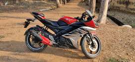 yamaha r15 new condition only 37000 km run