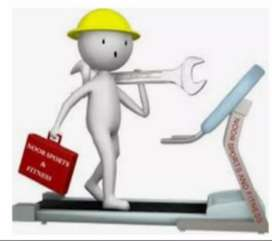 Treadmill repairing and servicing at your home