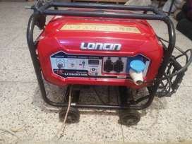 Almost brand new 6.5 kva petrol generator for sale.