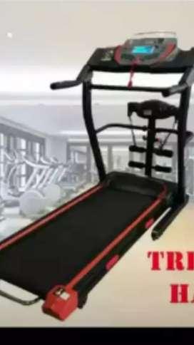 terbaru treadmill elektrik hatm 20 auto incline 4 fungsi