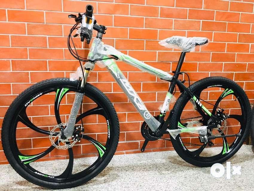 Mag wheels 21 speed gears dual disc bteaks 0
