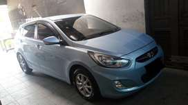 JUAL Hyundai Grand Avega Tahun 2012 Manual Blue Sky