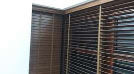 Natual look wooden window blinds best quality imported  material