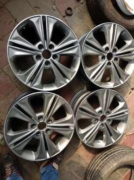 17'' diamond Cut Hyundai Creta Alloy wheel