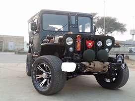 Modified classic jeep